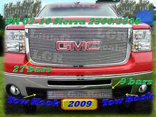 07-10 2009 2010 GMC Sierra 2500 HD Billet Grille Combo