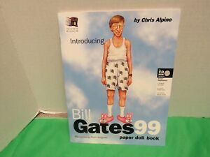 Introducing Bill Gates 99  Paper Doll Book