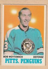 HOCKEY CARD NHL 1970-71 BOB WOYTOWICH PITTSBURG PENGUINS OPC #88