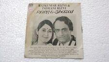 RAJKUMAR RIZVI INDRANI SAMPLER NOT FOR SALE RANG E GHAZAL  rare EP 1982 VG+