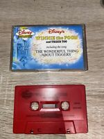 Walt Disney Read Along Cassette Tape - WINNIE THE POOH and TIGGER TOO