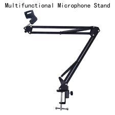 Mic Microphone Suspension Boom Scissor Arm Stand Holder for Studio Broadcast H2