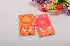 2pcs/Set Mignon Carte Capteur + Sakura Sticky Notes Cartoon Clow Card Print Memo Pad