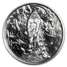 1 oz Silver Proof Round - Frank Frazetta (The Barbarian) - SKU #103692