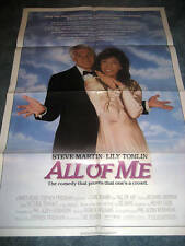 ALL OF ME(1984)STEVE MARTIN LILY TOMLIN 1SHEET NICE!