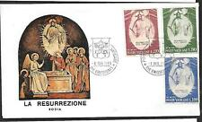1969     FDC       EASTER  SG519-21    Illustrated