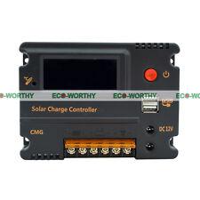 10A 12V/24V LCD Solarregler Solar Laderegler Solarpanel Temperaturkompensation