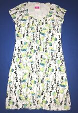 FRESH PRODUCE Large White EMMA Floral Vines EFFORTLESS Dress NWT New L