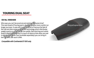 100% Genuine Royal Enfield TOURING DUAL SEAT BLACK For CONTINENTAL GT 650