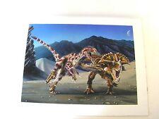 FOSSILS Dinosaur Original Artwork Velociraptor – protoceratops
