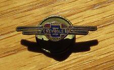 Vintage 1930's Chevrolet Service pin lapel pin screw back Brass enameled