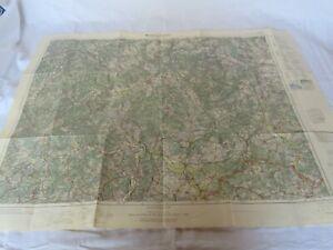 Einheitskarte Nr. 96 Marburg - Fritzlar  1 : 100 000 - Reichsamt Berlin 1931