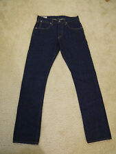 Wallace & Barnes slim selvedge jean in White Oak Cone Denim rinsed wash 29x32