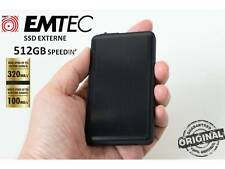 SSD EXTERNAL PORTABLE USB 3.0 512GB EMTEC SpeedIN' 1.8'' Solid State Drive