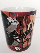 Vintage NFL Pittsburgh Steelers Coffee Tea Mug Cup 1995 Football Helmet Logo