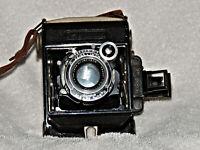 Carl Zeiss Ikon Super-Ikomat 6x4.5 with Jena Tessar 7cm  f3.5 Lens
