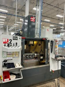 2011 HAAS VF2 - Good Condition - 30k RPM High Speed - 4th & 5th Axis