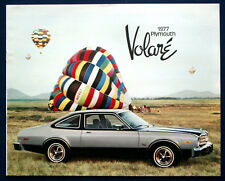 PROSPEKT BROCHURE 1977 Plymouth Volare (USA)