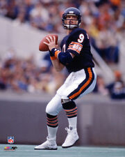JIM MCMAHON SOLDIER STAR Chicago Bears QB ACTION c.1985 Premium NFL POSTER Print