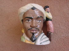 "Doulton Character Jug Othello pristine 1st Qual Shakespearean D6673  7.25"" Large"