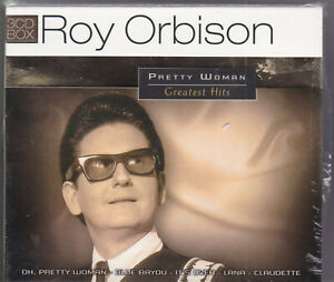 Roy Orbison - Pretty Woman: Greatest Hits (3-CD)     SEALED