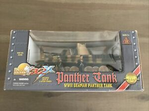 Ultimate Soldier 20290 German Camo Panzer Panther Tank With 2 Crew 1/32 New