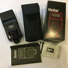 VIVITAR 730AF NI - ELECTRONIC FLASH - with case and box