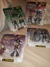 KISS McFARLANE ACTION FIGURES w alter ego GENE PAUL ACE PETER PSYCHO CIRCUS 1998