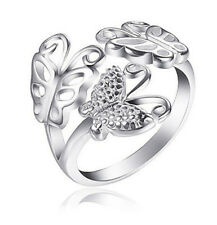 Adjustable Butterfly Ring for Thumbs - Ladies One Size Fits All Rings for Women