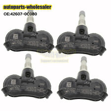 Set of 4 Original TPMS 42607-0C080 Fit Toyota Tundra Venza Tire Pressure Sensor