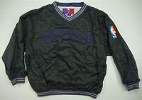 Rare VTG PRO PLAYER Toronto Raptors NBA Logo Pullover Golf Jacket 90s Youth XL