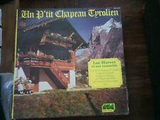 un p'tit chapeau tyrolien - Luc Harvet  et son ensemble - disque ABA 3291