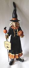 "Halloween WITCH Witchress Figurine Statue Decoration 15.5"" tall Sweet Street"