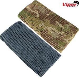 VIPER TACTICAL SCRIM NET SCARF SNIPER FACE VEIL HUNTING AIRSOFT GUN CONCEALMENT