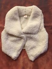 Gymboree Plum Pony Sweater Vest Off White Size 5