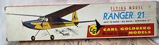 Carl Goldberg ~ Ranger 21 D3 Flying Model Kit ~ NEW in Opened Box