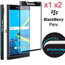 3D Full Coverage 9H Premium Tempered Glass Screen Protector for BlackBerry Priv