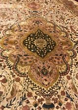 AN AWESOME OVAL SIZE 100% SILK RUG