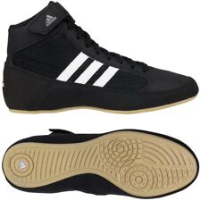 Adidas HVC 2 Negro/Blanco Wrestling Zapatos Tallas 6, 7, 8, 9, 10, 11, 12, 13, 14 15