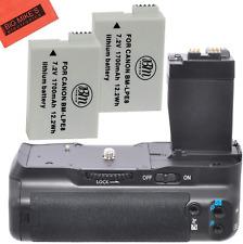 Battery Grip Kit For Canon Rebel T2I T3I T4I T5I Digital Slr Camera Includes Qty