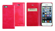 Funda Carcasa Cartera Mercury (Rosa) ~ Apple iPhone 4 / iPhone 4S