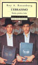 L'EBRAISMO - ROY ROSENBERG  - MONDADORI 2000
