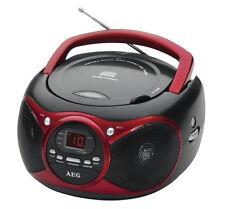 AEG SR 4351 CD Radio-Tuner /CD-Player  Tragbare Stereoanlage