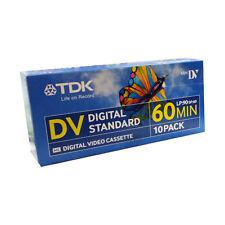 20 TDK DV Dvm60 Digital Standard Mini DV Video Cassette Tapes 60 Min 60sp 90lp