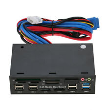 Multi-Function USB 3.0 Hub ESATA SATA Internal Card Reader For SD MS CF TF M2