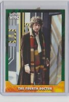 Doctor Who Signature Series Green Trading Card The Fourth Doctor #4  27/50
