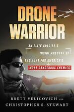Drone Warrior by Christopher S. Stewart and Brett Velicovich SIGNED with COA