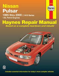 Nissan Pulsar N15 1995-2000 Workshop Repair Manual with MPN HA72773