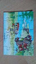 Schlangenfluß-Indianer 1992 Puzzle Ecke B + Beipackzettel