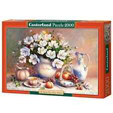 New Castorland Jigsaw Puzzle 2000 Pieces The Guilded Vase Trisha HardwickC200474